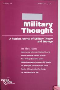 Military Thought PDF