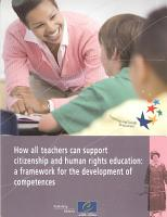 How All Teachers Can Support Citizenship and Human Rights Education PDF