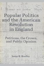 Popular Politics and the American Revolution in England