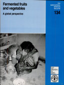 Fermented Fruits and Vegetables  A Global Perspective Book