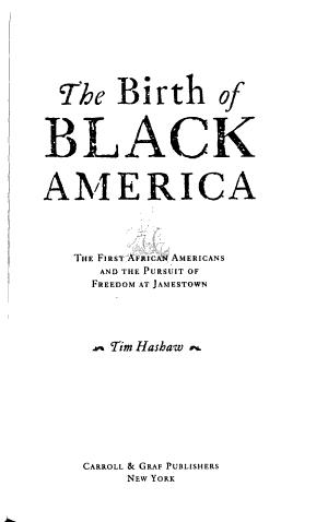 The Birth of Black America PDF