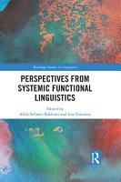 Perspectives from Systemic Functional Linguistics PDF
