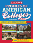 Profiles of American Colleges 2018 PDF