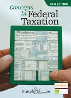 Concepts in Federal Taxation 2018 PDF