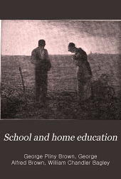School and Home Education: Volume 18