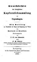 Geschichte der K  niglichen Kupferstichsammlung zu Copenhagen PDF