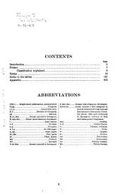 List of Publications of the Agriculture Department, 1862-1902, with Analytical Index