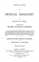 Outlines of Physical Geography PDF
