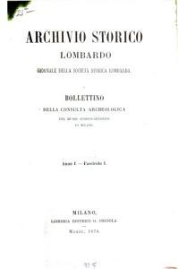 Archivio storico lombardo PDF