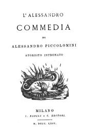 L'Alessandro: commedia, Volumi 28-33