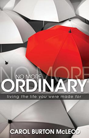 No More Ordinary PDF