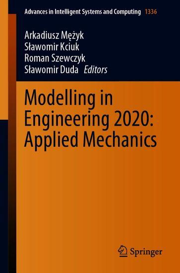 Modelling in Engineering 2020  Applied Mechanics PDF