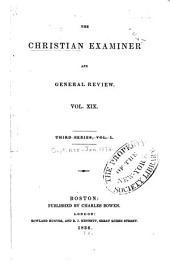 The Christian Examiner: Volume 19