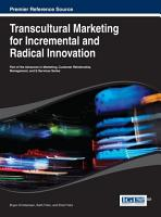 Transcultural Marketing for Incremental and Radical Innovation PDF