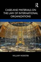 Cases and Materials on the Law of International Organizations PDF