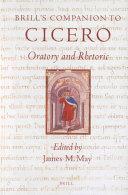 Brill's Companion to Cicero