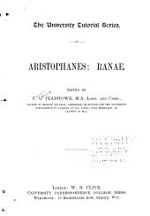 Aristophanes: Ranae