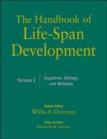 The Handbook of Life Span Development  Volume 1 PDF