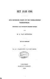 Het jaar 1566: Eene historische proeve uit den nederlandschen vrijheidsoorlog, Volume 1