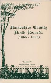 Hampshire County Death Records 1866 1922