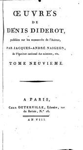 Œuvres de Denis Diderot: Volume9