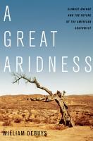 A Great Aridness PDF