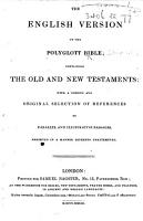 The English Version of the Polyglott Bible  Etc PDF