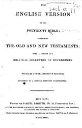 The English Version Of The Polyglott Bible Etc Book PDF