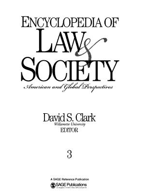 Encyclopedia of Law and Society PDF