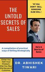 The Untold Secrets of Sales