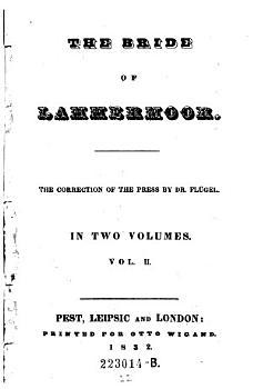 The bride of Lammermoor  Vol  II PDF