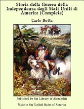 Storia della guerra della independenza degli Stati Uniti di America