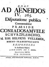 Ad Aeneidos IV. 265