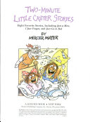 Two Minute Little Critter Stories Book