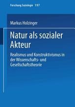 Natur als sozialer Akteur PDF