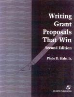 Writing Grant Proposals That Win PDF