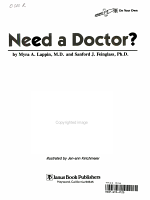 Need a Doctor?