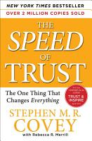 The SPEED of Trust PDF