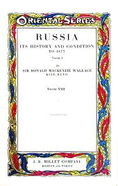 Russia: Its history and condition to 1877