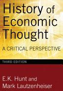 History of Economic Thought PDF