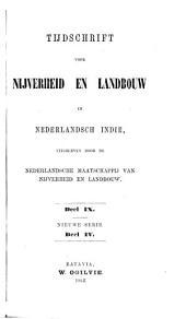 Tijdschrift voor nijverheid en landbouw in Nederlandsch-Indië: Volume 9