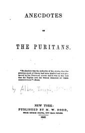 Anecdotes of the Puritans
