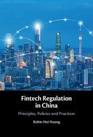 Fintech Regulation in China PDF