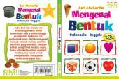 Seri Aku Cerdas Mengenal Bentuk Indonesia-Inggris