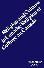 Religion Et Culture Au Canada