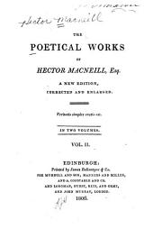The Poetical Works of Hector Macneill, Esq: Volume 2