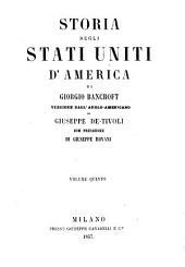 Storia degli Stati Uniti d'America: Volume 5