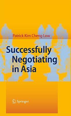 Successfully Negotiating in Asia