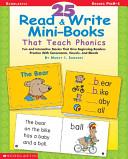 25 Read   Write Mini Books That Teach Phonics Book