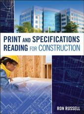 Print and Specifications Reading for Construction PDF